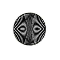Abstract Of Shutter Lines Hat Clip Ball Marker (4 pack)