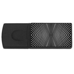 Abstract Of Shutter Lines USB Flash Drive Rectangular (4 GB)