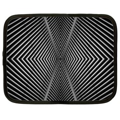 Abstract Of Shutter Lines Netbook Case (xxl)