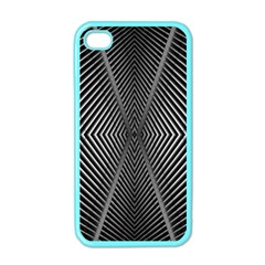 Abstract Of Shutter Lines Apple iPhone 4 Case (Color)