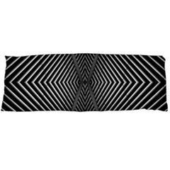 Abstract Of Shutter Lines Body Pillow Case (Dakimakura)