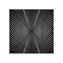 Abstract Of Shutter Lines Acrylic Tangram Puzzle (4  x 4 )