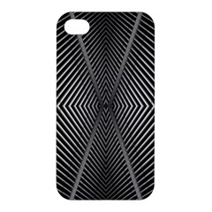 Abstract Of Shutter Lines Apple iPhone 4/4S Premium Hardshell Case