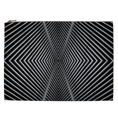Abstract Of Shutter Lines Cosmetic Bag (xxl)