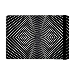Abstract Of Shutter Lines Apple Ipad Mini Flip Case