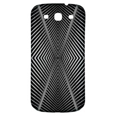 Abstract Of Shutter Lines Samsung Galaxy S3 S III Classic Hardshell Back Case