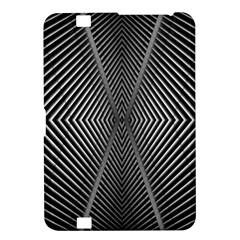 Abstract Of Shutter Lines Kindle Fire HD 8.9