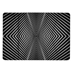 Abstract Of Shutter Lines Samsung Galaxy Tab 10.1  P7500 Flip Case