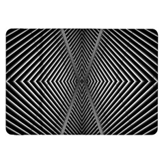 Abstract Of Shutter Lines Samsung Galaxy Tab 8.9  P7300 Flip Case