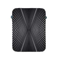 Abstract Of Shutter Lines Apple iPad 2/3/4 Protective Soft Cases