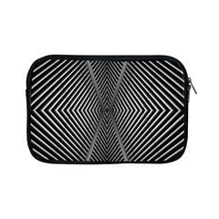 Abstract Of Shutter Lines Apple iPad Mini Zipper Cases
