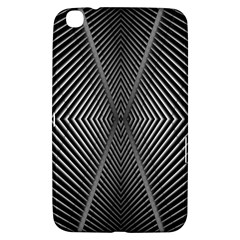 Abstract Of Shutter Lines Samsung Galaxy Tab 3 (8 ) T3100 Hardshell Case