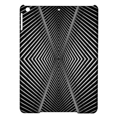 Abstract Of Shutter Lines iPad Air Hardshell Cases
