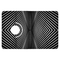 Abstract Of Shutter Lines Kindle Fire HDX Flip 360 Case