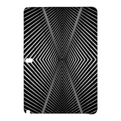 Abstract Of Shutter Lines Samsung Galaxy Tab Pro 12.2 Hardshell Case