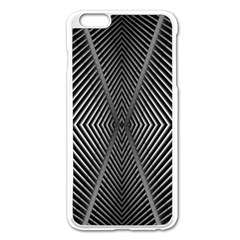 Abstract Of Shutter Lines Apple iPhone 6 Plus/6S Plus Enamel White Case