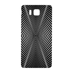 Abstract Of Shutter Lines Samsung Galaxy Alpha Hardshell Back Case