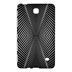 Abstract Of Shutter Lines Samsung Galaxy Tab 4 (8 ) Hardshell Case
