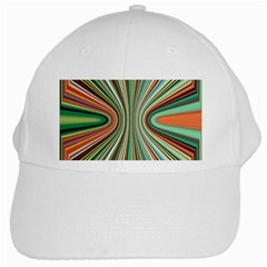 Colorful Spheric Background White Cap