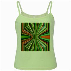 Colorful Spheric Background Green Spaghetti Tank