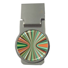 Colorful Spheric Background Money Clips (round)