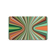 Colorful Spheric Background Magnet (Name Card)