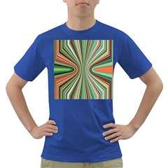 Colorful Spheric Background Dark T-Shirt