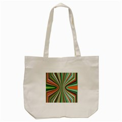 Colorful Spheric Background Tote Bag (Cream)