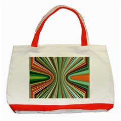 Colorful Spheric Background Classic Tote Bag (Red)