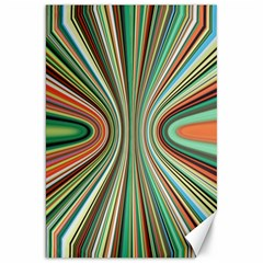 Colorful Spheric Background Canvas 20  X 30