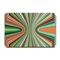 Colorful Spheric Background Small Doormat