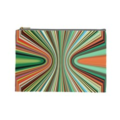 Colorful Spheric Background Cosmetic Bag (large)