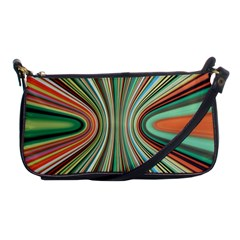 Colorful Spheric Background Shoulder Clutch Bags