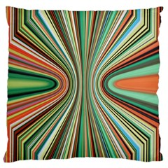 Colorful Spheric Background Large Cushion Case (One Side)