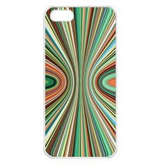 Colorful Spheric Background Apple iPhone 5 Seamless Case (White)