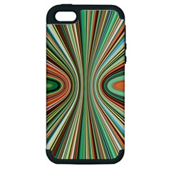 Colorful Spheric Background Apple iPhone 5 Hardshell Case (PC+Silicone)