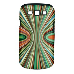 Colorful Spheric Background Samsung Galaxy S III Classic Hardshell Case (PC+Silicone)