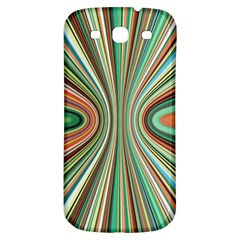 Colorful Spheric Background Samsung Galaxy S3 S III Classic Hardshell Back Case