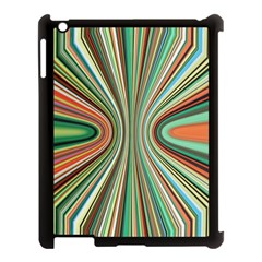 Colorful Spheric Background Apple iPad 3/4 Case (Black)