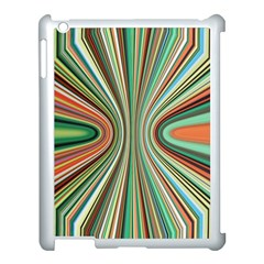 Colorful Spheric Background Apple Ipad 3/4 Case (white)