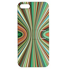 Colorful Spheric Background Apple iPhone 5 Hardshell Case with Stand