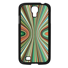 Colorful Spheric Background Samsung Galaxy S4 I9500/ I9505 Case (Black)