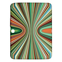 Colorful Spheric Background Samsung Galaxy Tab 3 (10.1 ) P5200 Hardshell Case
