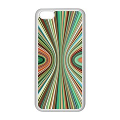 Colorful Spheric Background Apple iPhone 5C Seamless Case (White)