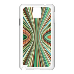 Colorful Spheric Background Samsung Galaxy Note 3 N9005 Case (White)