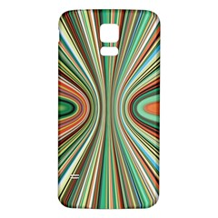 Colorful Spheric Background Samsung Galaxy S5 Back Case (White)