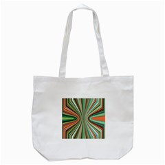 Colorful Spheric Background Tote Bag (White)