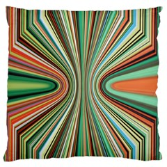 Colorful Spheric Background Standard Flano Cushion Case (Two Sides)