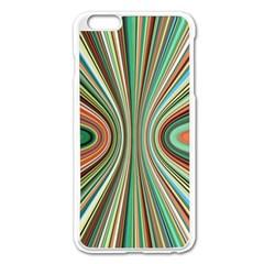 Colorful Spheric Background Apple iPhone 6 Plus/6S Plus Enamel White Case