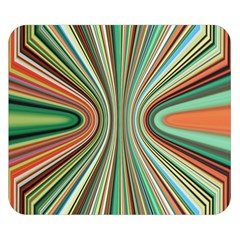 Colorful Spheric Background Double Sided Flano Blanket (Small)